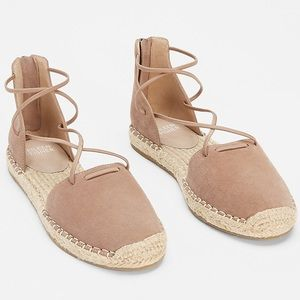 Eileen Fisher Lace Espadrille Size 7.5 New $155